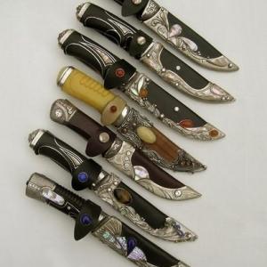 Колекція мисливських ножів