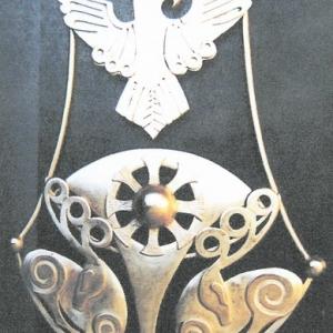 Комплект ювелірних прикрас «Цариця скіфська»