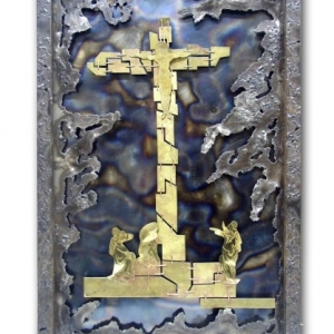 Декоративне панно «Голгофа»